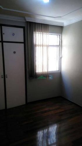 apartamento residencial à venda, nova suíssa, belo horizonte. - ap0007