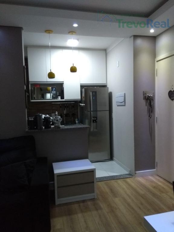 apartamento residencial à venda, ortizes, valinhos. - ap0703