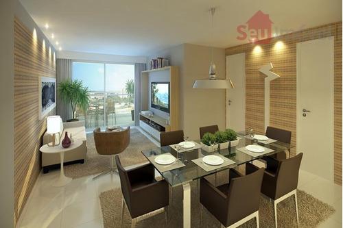 apartamento  residencial à venda, papicu, fortaleza. - ap0087