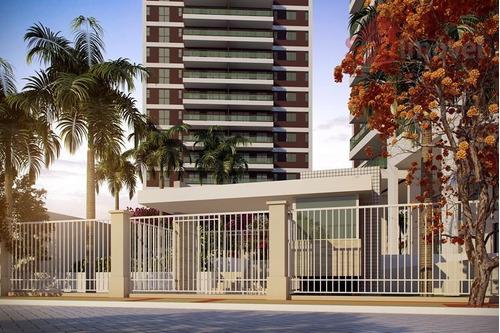 apartamento  residencial à venda, papicu, fortaleza. - ap0088