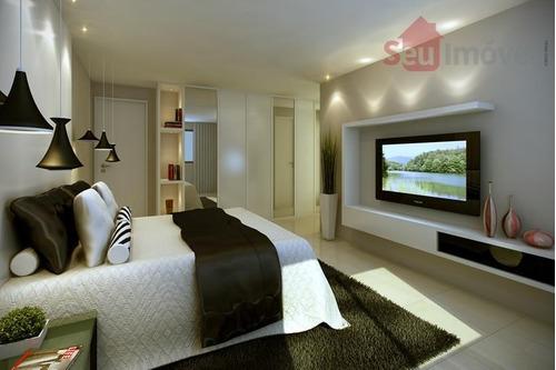 apartamento  residencial à venda, papicu, fortaleza. - ap0089