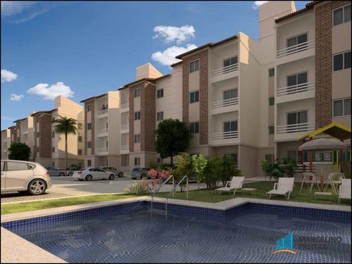 apartamento residencial à venda, parangaba, fortaleza - . - codigo: ap2298 - ap2298