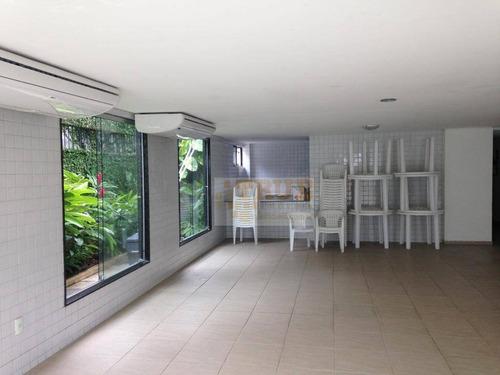 apartamento residencial à venda, parnamirim, recife. - ap2221