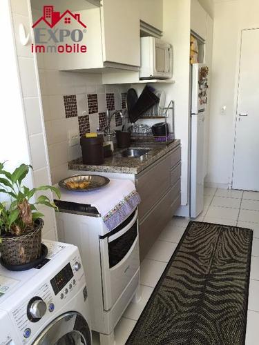 apartamento  residencial à venda, parque brasília, campinas. - ap0210