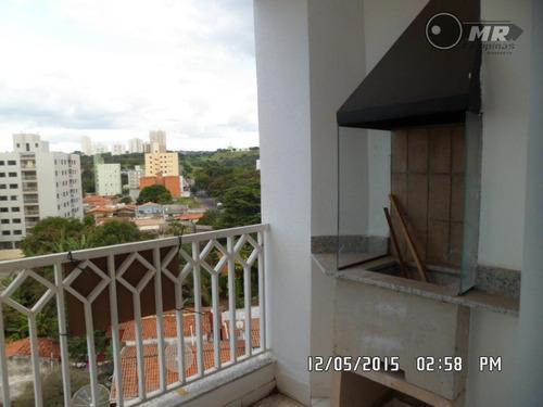 apartamento residencial à venda, parque brasília, campinas. - ap0496