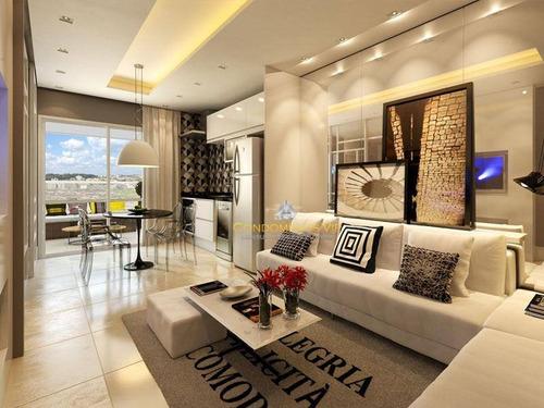 apartamento residencial à venda, parque campolim, sorocaba. - ap0339