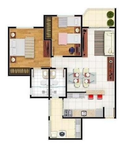 apartamento residencial à venda, parque campolim, sorocaba - . - ap0915