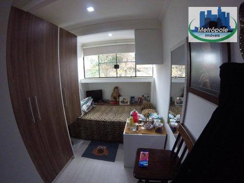 apartamento residencial à venda, parque cecap, guarulhos. - ap0438
