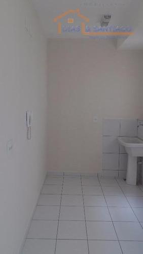 apartamento residencial à venda, parque da amizade (nova veneza), sumaré. - ap1401