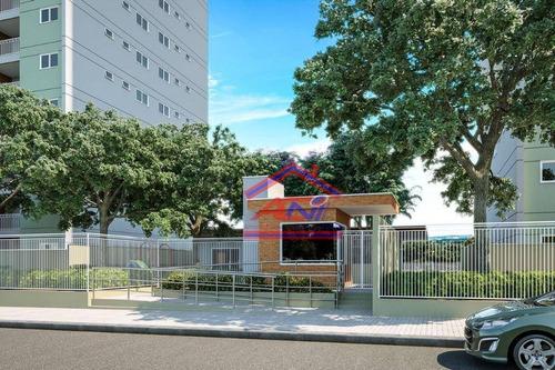 apartamento residencial à venda, parque do lago - hortolândia. - ap0041