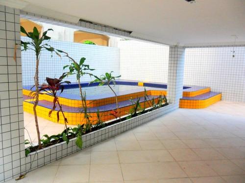 apartamento residencial à venda, parque enseada, guarujá. - ap0101