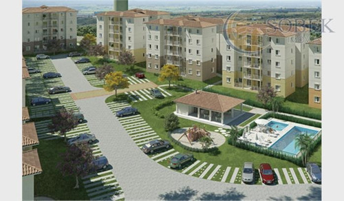 apartamento  residencial à venda, parque euclides miranda, sumaré. - ap0203