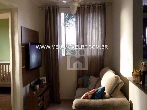 apartamento residencial à venda, parque industrial lagoinha, ribeirão preto - ap0233. - ap0233