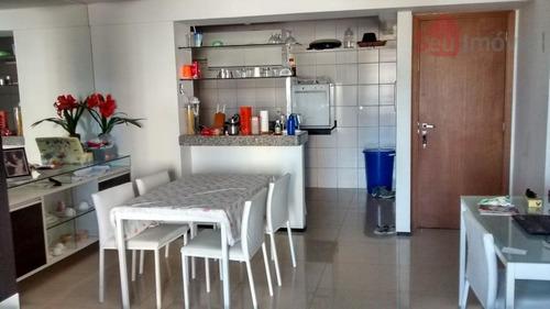 apartamento  residencial à venda, parque iracema, fortaleza. - ap0689
