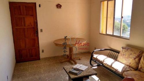apartamento residencial à venda, parque nações unidas, são paulo. - ap0348