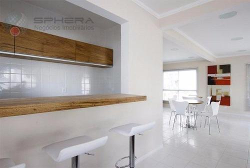 apartamento residencial à venda, parque novo mundo, são paulo. - ap0276