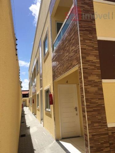 apartamento residencial à venda, parque potira, caucaia. - ap0971