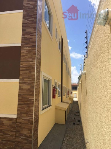 apartamento residencial à venda, parque potira, caucaia. - ap0972