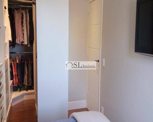apartamento residencial à venda, parque prado, campinas. - ap0404
