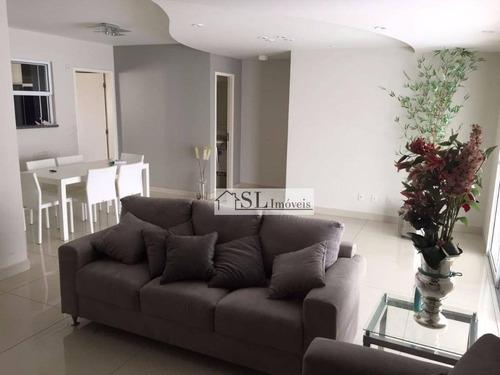 apartamento residencial à venda, parque prado, campinas. - ap0523