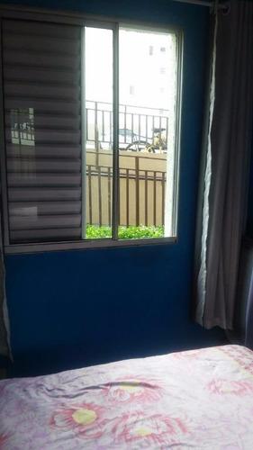 apartamento  residencial à venda, parque residencial flamboyant, são josé dos campos. - ap0360