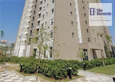 apartamento residencial à venda, parque residencial nardini, americana. - ap0789