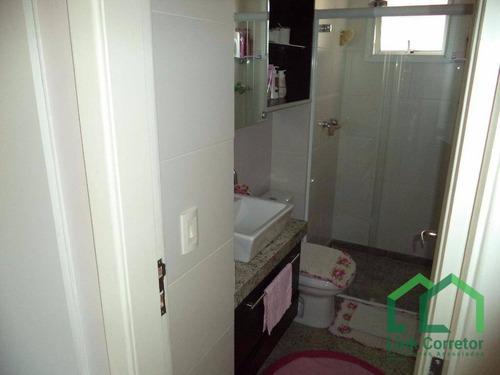 apartamento residencial à venda, parque rural fazenda santa cândida, campinas. - ap0185