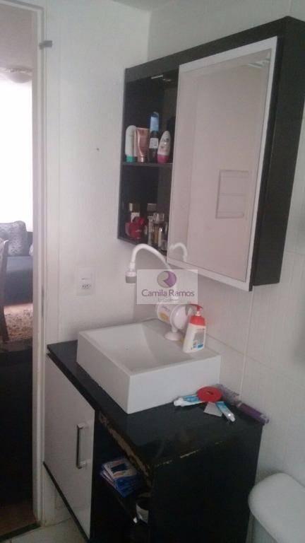apartamento residencial à venda, parque santa rosa, suzano. - ap0072