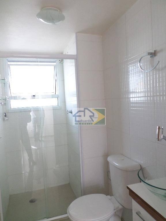 apartamento residencial à venda, parque santa rosa, suzano. - ap0129