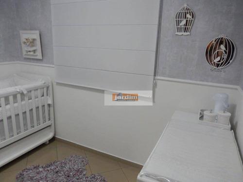 apartamento residencial à venda, parque são diogo, são bernardo do campo. - ap4673