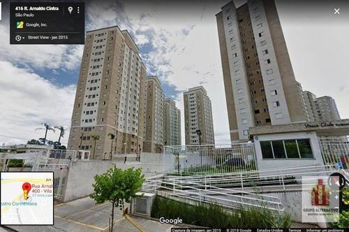 apartamento residencial à venda, parque são jorge, são paulo. - ap0933