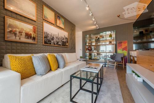 apartamento residencial à venda, parque são lucas, são paulo. - ap0240