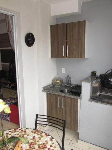 apartamento residencial à venda, parque são lucas, são paulo. - ap0699