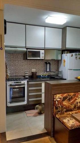 apartamento residencial à venda, parque são lucas, são paulo. - ap0800