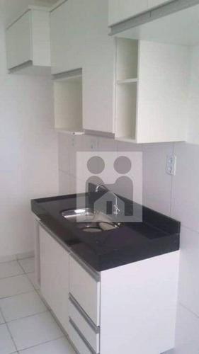 apartamento residencial à venda, parque são sebastião, ribeirão preto. - ap0857