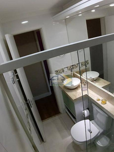 apartamento residencial à venda, parque suzano, suzano. - ap