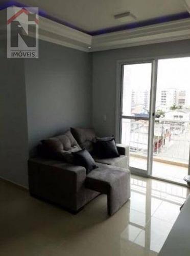 apartamento residencial à venda, parque suzano, suzano. - ap0036