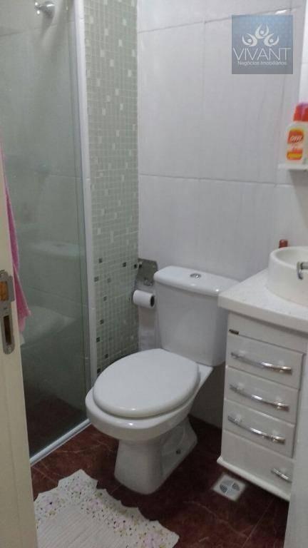 apartamento residencial à venda, parque suzano, suzano. - ap0166