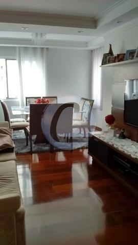 apartamento residencial à venda, parque terra nova, são bernardo do campo. - ap2407