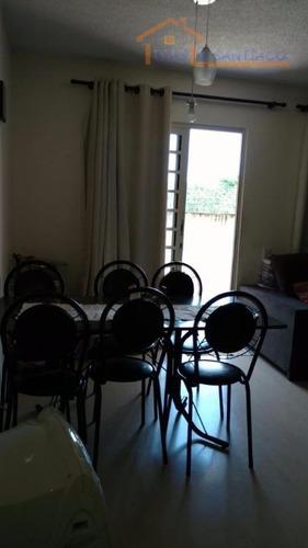 apartamento residencial à venda, parque villa flores, sumaré. - ap1205