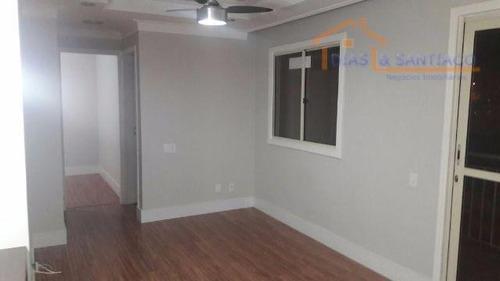 apartamento residencial à venda, parque villa flores, sumaré. - ap1434