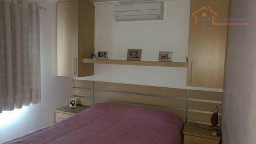 apartamento residencial à venda, parque villa flores, sumaré. - ap1447