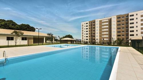 apartamento residencial à venda, parque yolanda (nova veneza), sumaré. - ap0036
