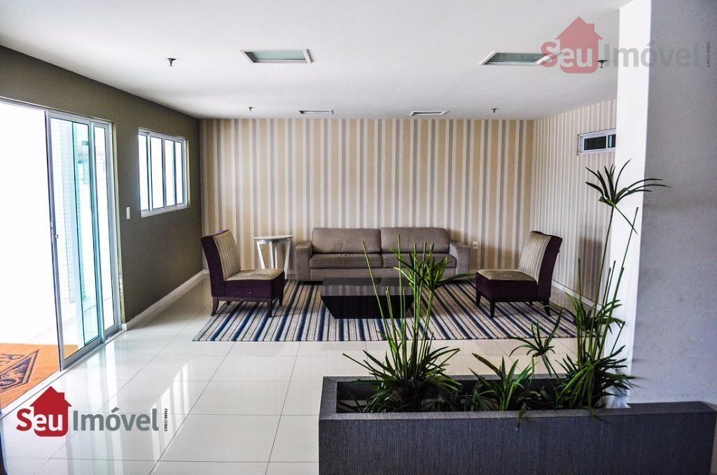 apartamento residencial à venda, parquelândia, fortaleza. - ap0780