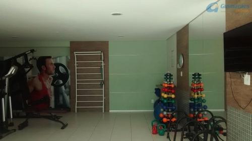 apartamento residencial à venda, parquelândia, fortaleza. - ap3004