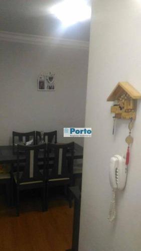 apartamento residencial à venda, paulicéia, são bernardo do campo. - ap0225