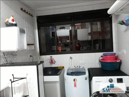 apartamento residencial à venda, paulicéia, são bernardo do campo. - ap0485