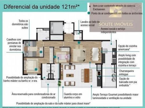 apartamento residencial à venda, pinheiros, são paulo. - codigo: ap2556 - ap2556