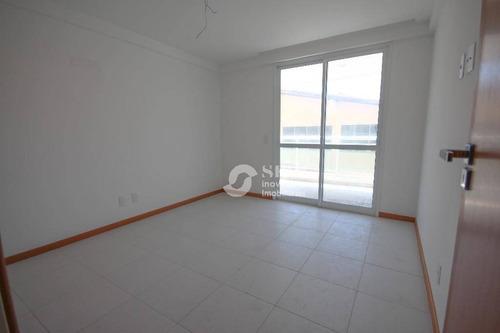 apartamento residencial à venda, piratininga, niterói. - ap0366