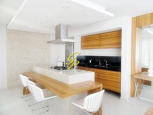 apartamento  residencial à venda, pitangueiras, guarujá. - codigo: ap1126 - ap1126